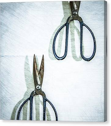 Pruning Canvas Print - Pruning Shears by Yo Pedro