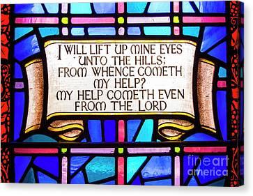 Psalm 121 Canvas Print by Juli Scalzi