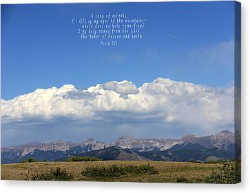 Psalm 121 Canvas Print