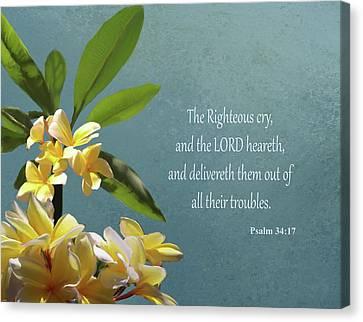 Psalms 01 Canvas Print