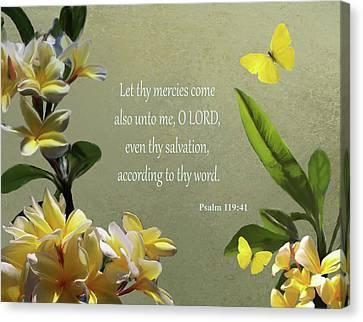 Psalms 02 Canvas Print