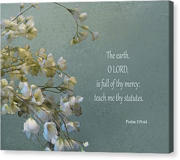 Psalms 03 Canvas Print