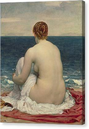 Change Canvas Print - Psamanthe by Frederic Leighton