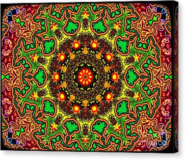 Psych Canvas Print by Robert Orinski