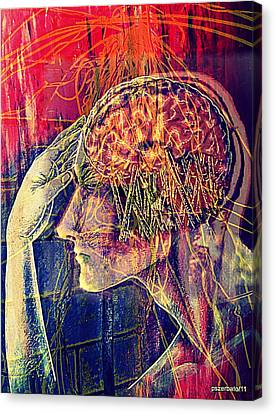 Psychological Crutches Canvas Print by Paulo Zerbato