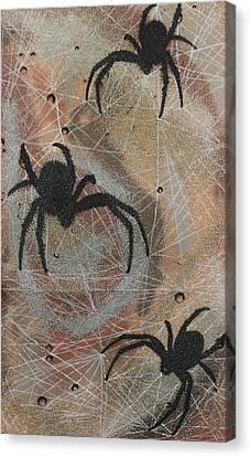 Psychomania Canvas Print by Arnuda