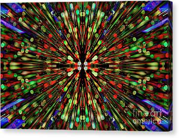Canvas Print featuring the photograph Psychotomimetic.. by Nina Stavlund
