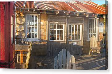 Pt. Reyes Boathouse Canvas Print by Dianne Levy