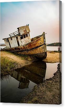 Pt. Reyes Shipwreck 1 Canvas Print