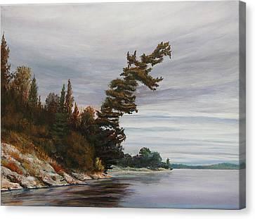 Ptarmigan Bay Canvas Print by Ruth Kamenev