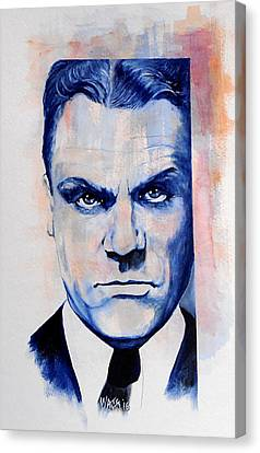 Public Enemy - Jimmy Cagney Canvas Print by William Walts