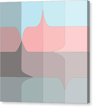Pucker Grid Canvas Print