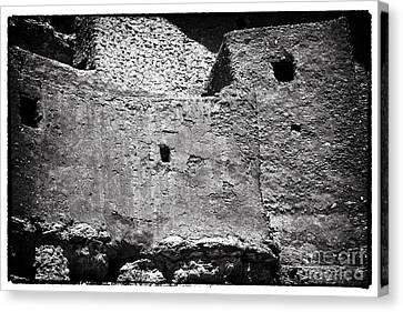 Pueblo Castle Canvas Print by John Rizzuto
