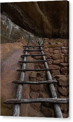 Pueblo Ladder Canvas Print by Joseph Smith