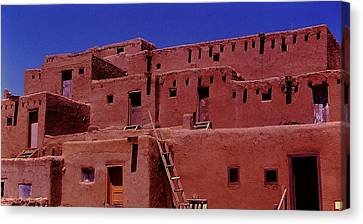 Pueblo Living Canvas Print