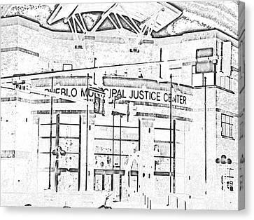 Pueblo Municipal Justice Center 2 Canvas Print