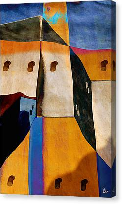 Pueblo Number 1 Canvas Print by Carol Leigh