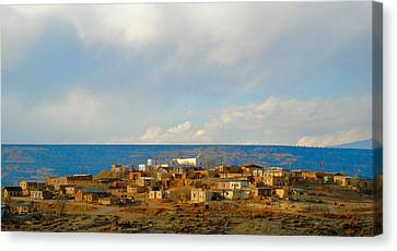 Robert Morrissey Canvas Print - Pueblo Of Laguna by Robert Morrissey