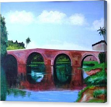 Puente Yayabo Canvas Print