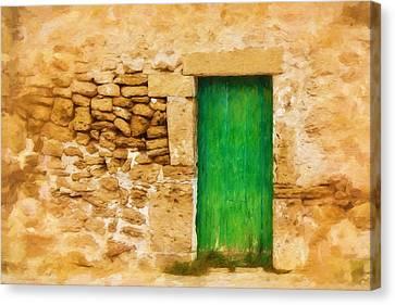 Puerta Verde Canvas Print by Lutz Baar