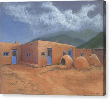 Puertas Azul Canvas Print by Jerry McElroy