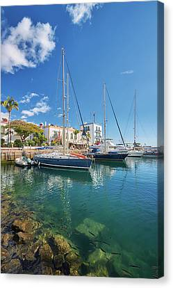 Canvas Print - Puerto De Mogan by Marc Huebner