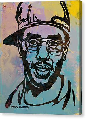 Puff Daddy Pop Stylised Art Poster Canvas Print