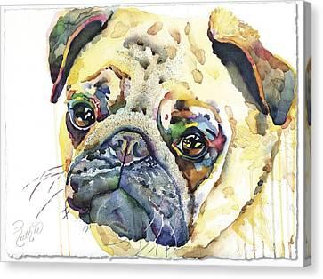 Canvas Print - Pug by Ruth Hardie