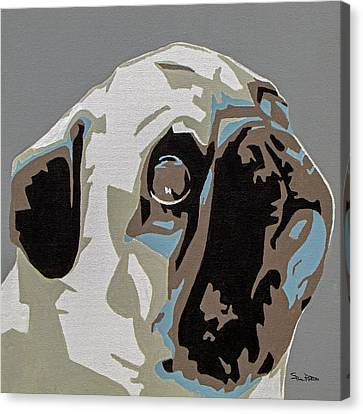 Pug Canvas Print by Slade Roberts