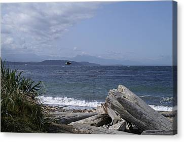 Puget Sound Canvas Print by Henri Irizarri