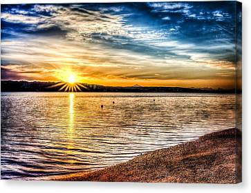 Puget Sound Sunrise Canvas Print