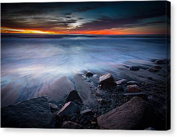 Pullback Canvas Print by Peter Tellone
