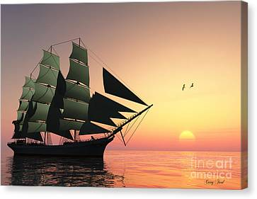 Pulse Of Life Canvas Print by Corey Ford
