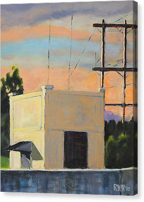 Pumphouse Canvas Print
