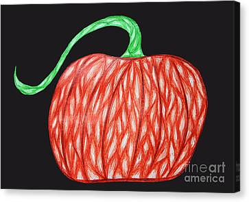 Pumpkin Canvas Print by Jamie Lynn
