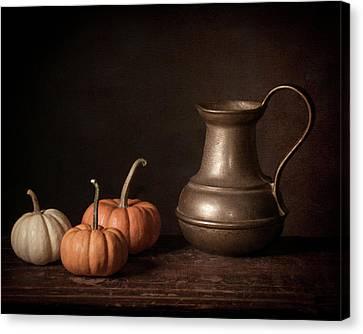 Interior Still Life Canvas Print - Pumpkin Spice by Jerri Moon Cantone