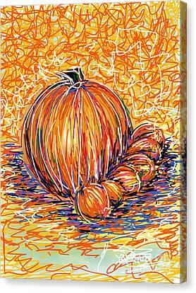 Pumpkinlets Canvas Print by Robert Yaeger