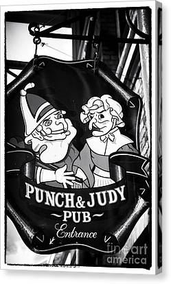 Punch And Judy Pub Canvas Print by John Rizzuto