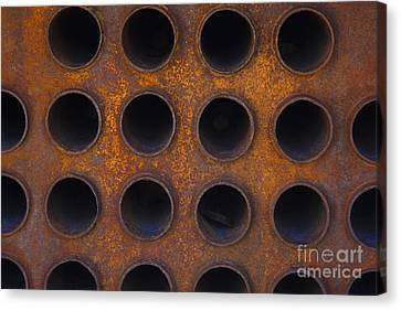 Punctured Yellow Canvas Print