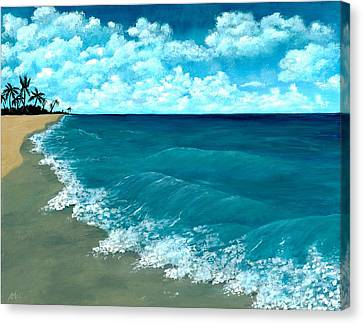 Punta Cana Beach Canvas Print