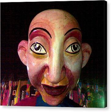 Puppet Kushi Mohamad Canvas Print