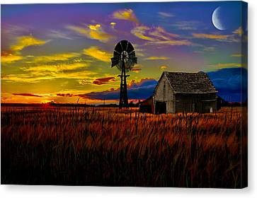 Pure Country Canvas Print by Gary Smith