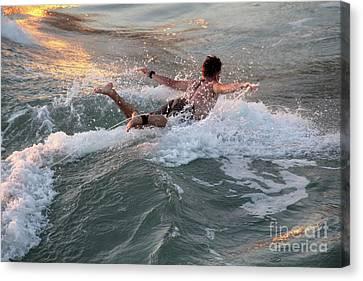 Canvas Print - Pure Joy San Clemente California by Linda Queally