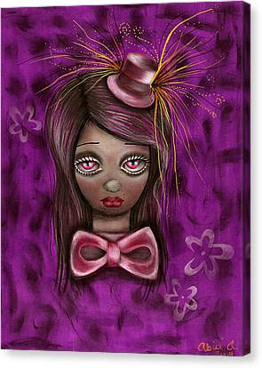 Purple Canvas Print by  Abril Andrade Griffith