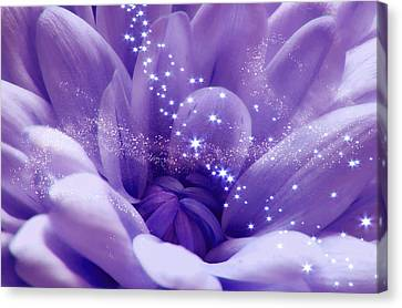 Purple Beauty And Magic Dust Canvas Print