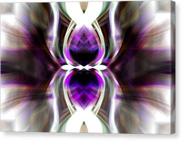Purple Butterfly Canvas Print by Cherie Duran