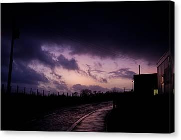 Purple Evening Canvas Print