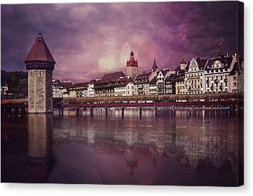 Purple Haze Canvas Print by Carol Japp