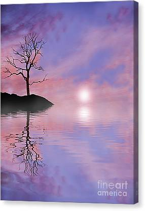 Terra Firma Canvas Print - Purple Haze by Kevin Williams