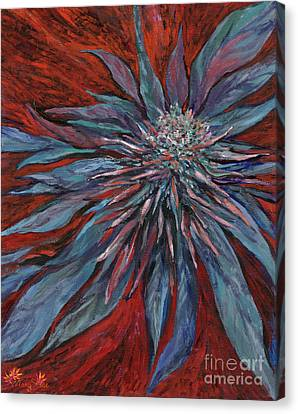 Mary Canvas Print - Purple Haze by Mary Jane